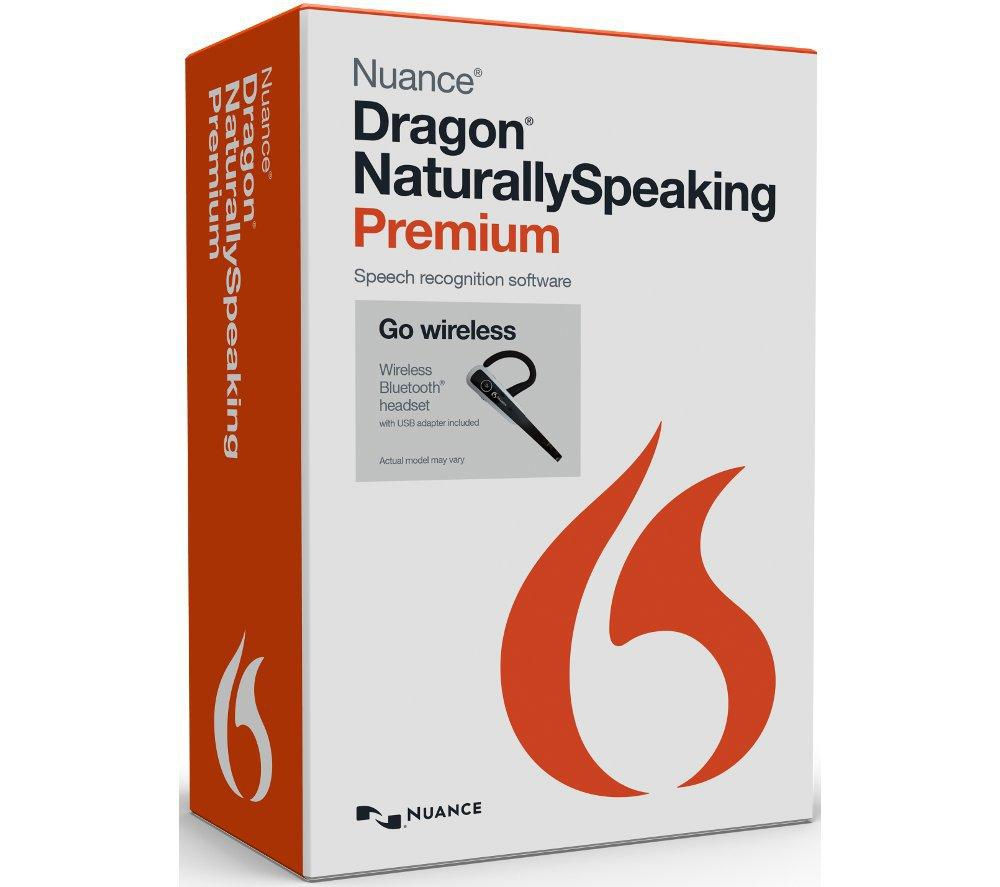 NUANCE Dragon Naturally Speaking Wireless 13