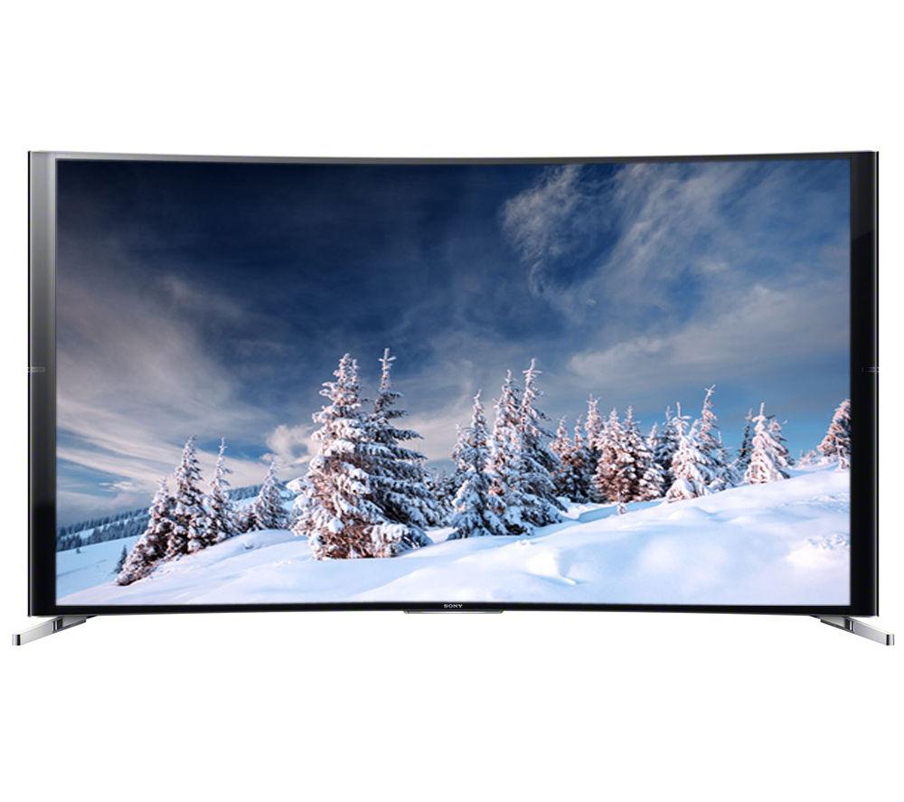 buy sony bravia kd75s9005bbu smart 3d ultra hd 4k 75 curved led tv free delivery currys. Black Bedroom Furniture Sets. Home Design Ideas