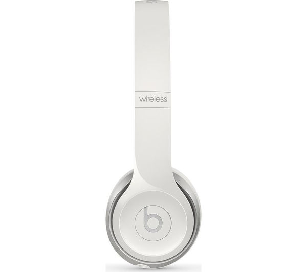 Image of BEATS BY DR DRE Solo 2 Wireless Bluetooth Headphones - White