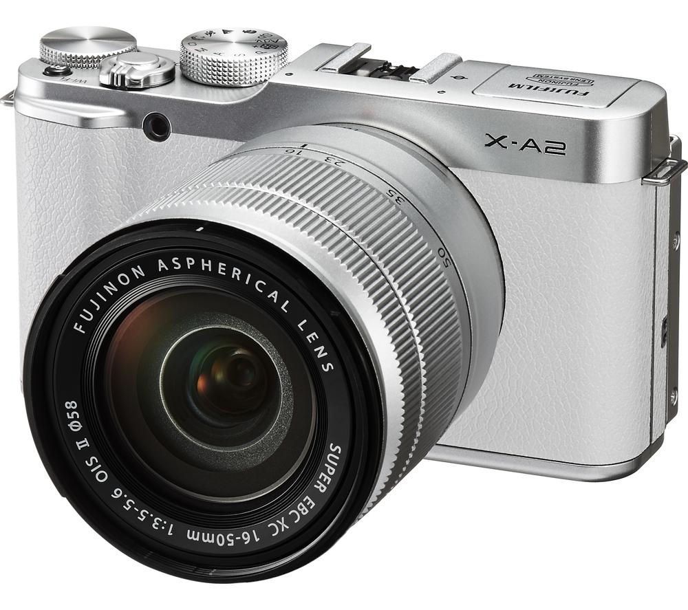 Buy FUJIFILM X-A2 Compact System Camera with XC 16-50 mm f ...