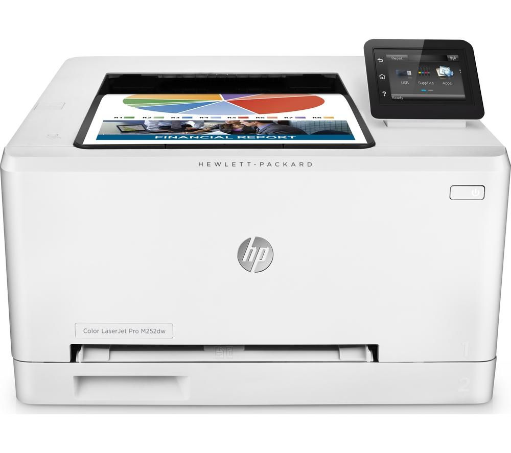Image of HP Colour LaserJet Pro M252dw Wireless Laser Printer