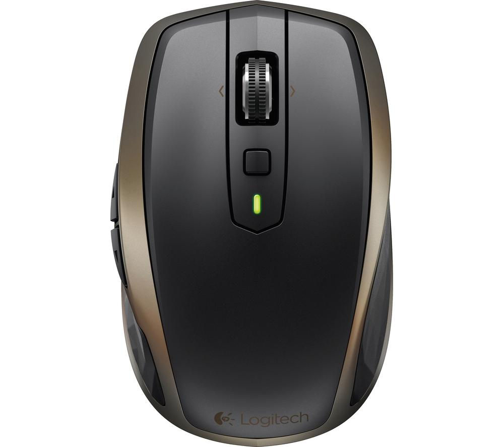 LOGITECH MX Anywhere 2 Wireless Mouse - Black & Dark Gold