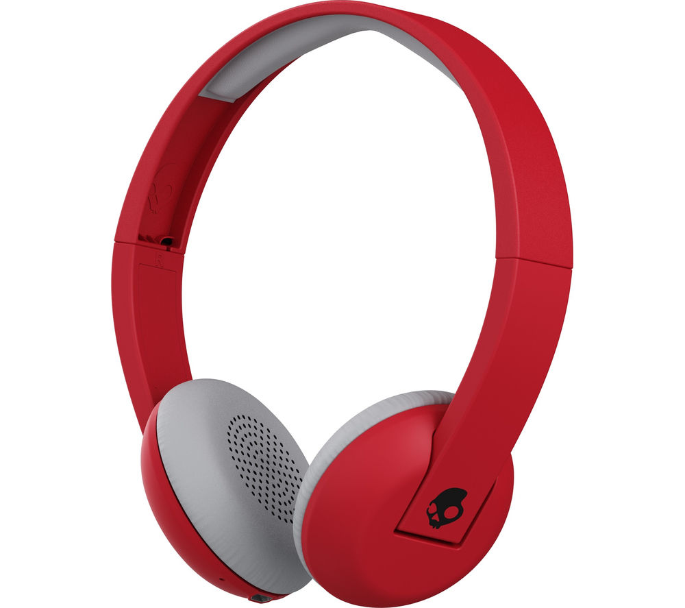 SKULLCANDY  Uproar S5URHW-462 Wireless Bluetooth Headphones - Red & Black, Red.