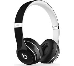 BEATS Solo 2 Headphones - Luxe Edition, Black