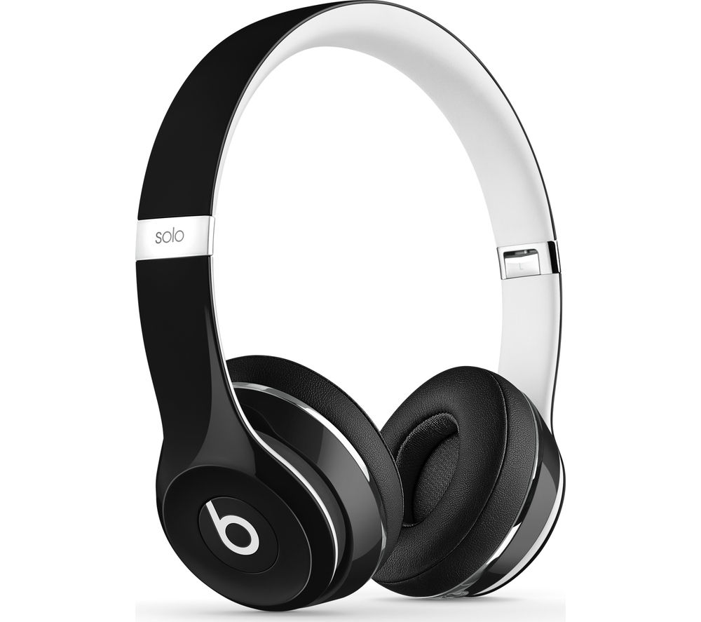 Image of BEATS Solo 2 Headphones - Luxe Edition, Black, Black