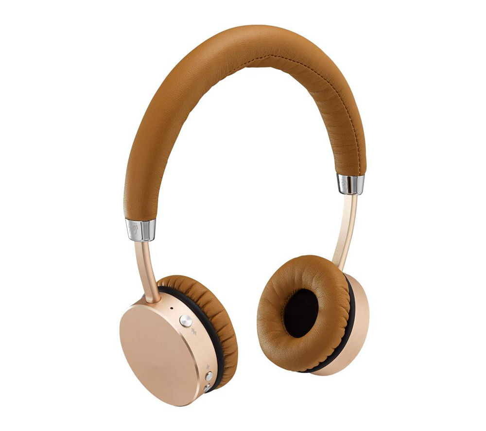 Click to view more of GOJI COLLECTION  Wireless Bluetooth Headphones - Rose Gold, Gold