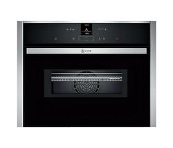 NEFF C27MS22N0B Built-in Combination Microwave - Stainless Steel