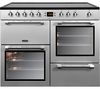 LEISURE Cookmaster CK100C210S Electric Ceramic Range Cooker - Stainless Steel & Chrome
