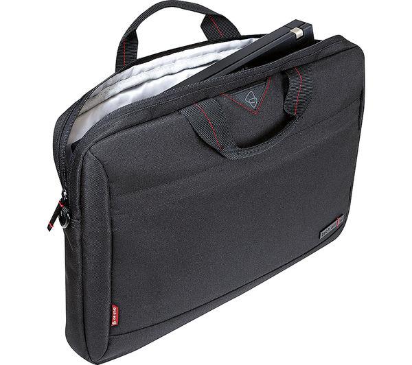 "Image of TECHAIR TAN1204v2 14.1"" Laptop Briefcase - Black"