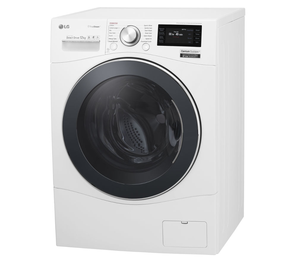 LG  Centum FH6F9BDS2 Smart Washing Machine  White White