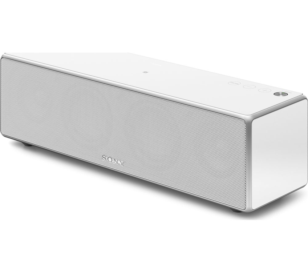 Sony SRS-ZR7W Wireless Smart Sound Multi-Room Speaker - White, White