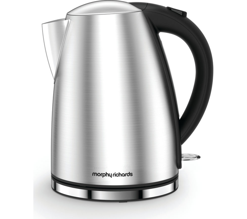 MORPHY RICHARDS  Accents 103005 Jug Kettle  Brushed Steel Brushed Steel