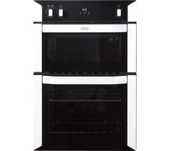 BELLING BI90FP Electric Double Oven - White