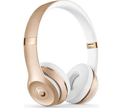 BEATS BY DR DRE Solo 3 Wireless Bluetooth Headphones - Gold