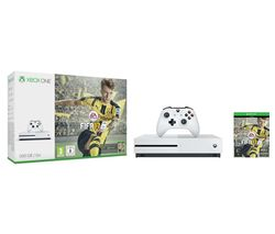 MICROSOFT Xbox One S with FIFA 17