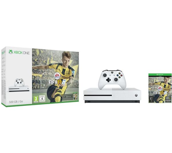 71a67bfd55c ZQ9-00053 - MICROSOFT Xbox One S with FIFA 17 - Currys PC World Business