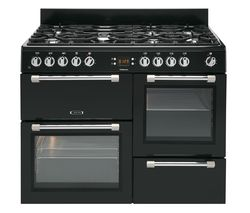 LEISURE Cookmaster CK100F232K Dual Fuel Range Cooker - Black