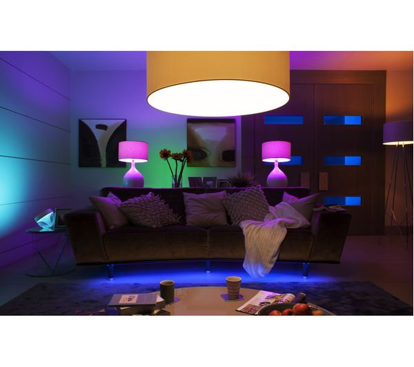 buy philips hue colour wireless bulbs starter kit b22 free delivery currys. Black Bedroom Furniture Sets. Home Design Ideas