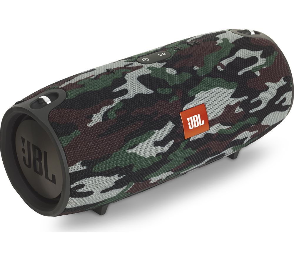 buy jbl xtreme portable bluetooth wireless speaker camouflage free delivery currys. Black Bedroom Furniture Sets. Home Design Ideas