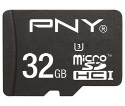 PNY Turbo Performance Class 10 microSDHC Memory Card - 32 GB