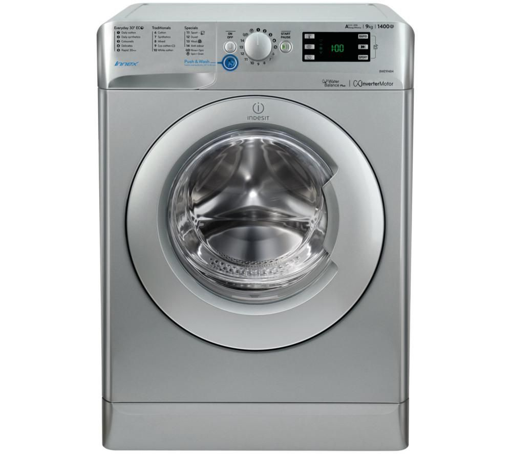 INDESIT Innex BWE 91484X S Washing Machine - Silver