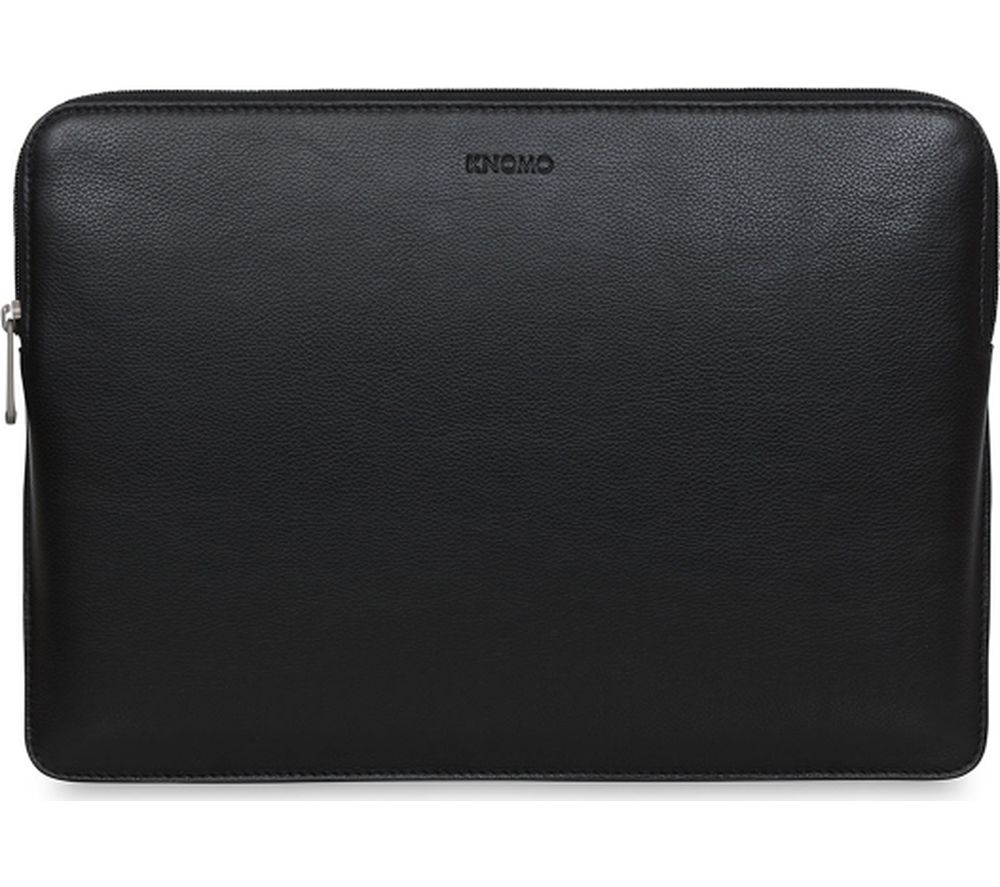 "KNOMO Barbican 12"" MacBook Leather Sleeve - Black"