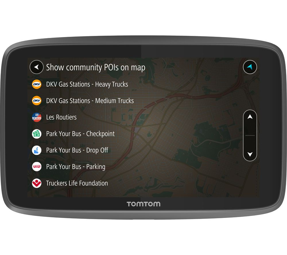 "TOMTOM GO Professional 6200 HGV 6"" Sat Nav - Full Europe Maps"