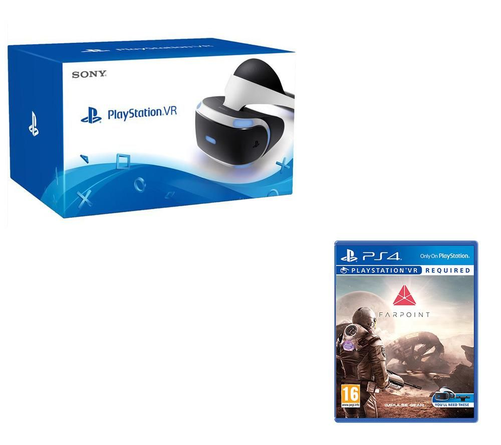 PLAYSTATION 4 VR & Farpoint Bundle