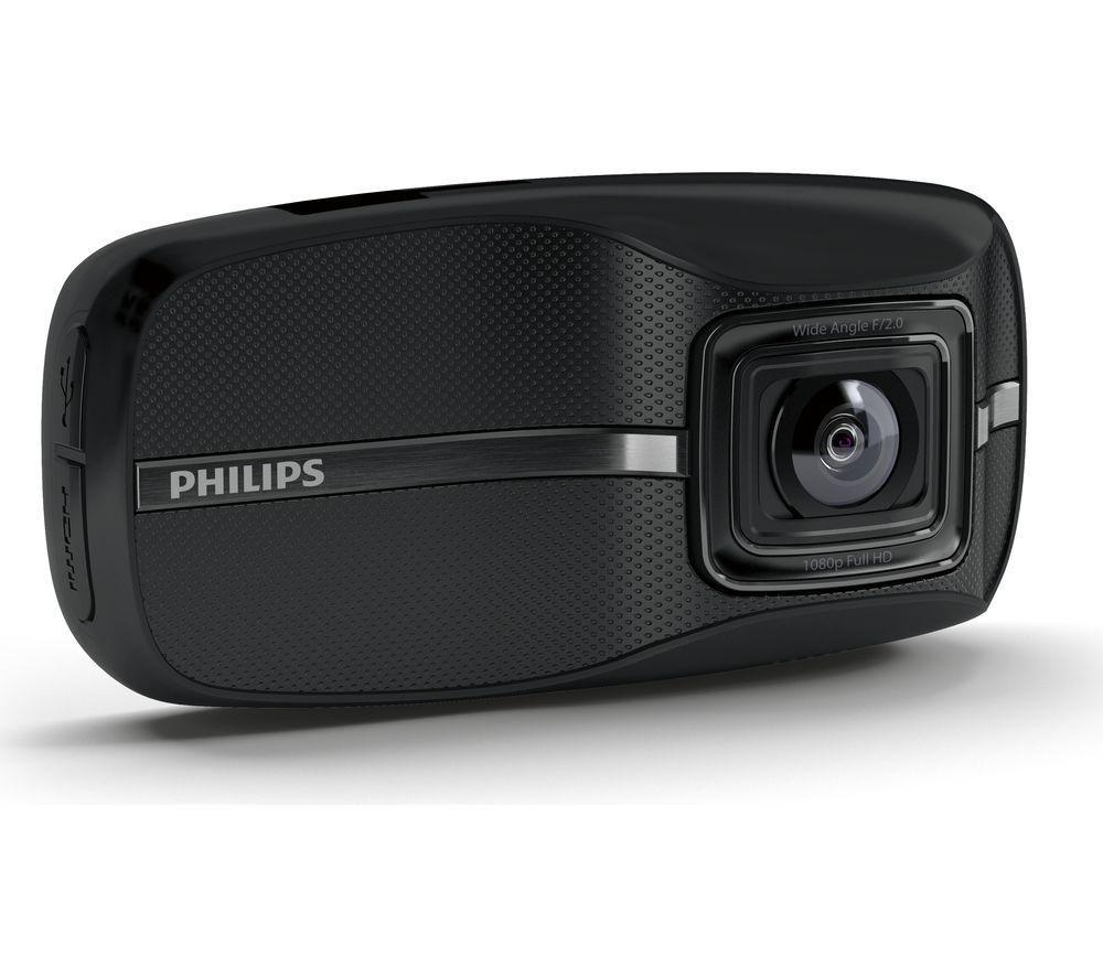 PHILIPS ADR810 Dash Cam - Black