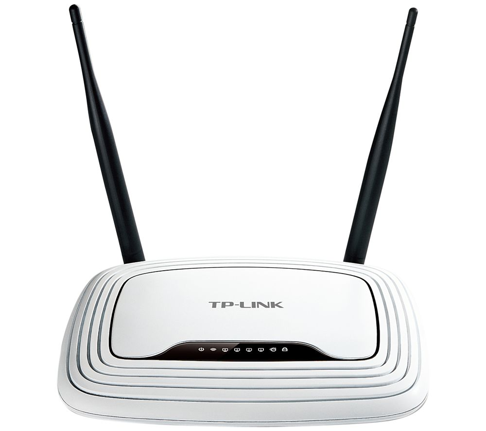 TP-LINK TL-WR841N Wireless Cable & Fibre Router - N300, Single-band