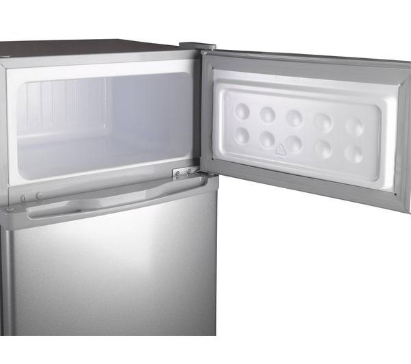 Fridge Freezers Small Fridge Freezer Silver