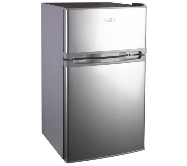 Buy Logik Luc50s12 Undercounter Fridge Freezer Silver Free Delivery Currys