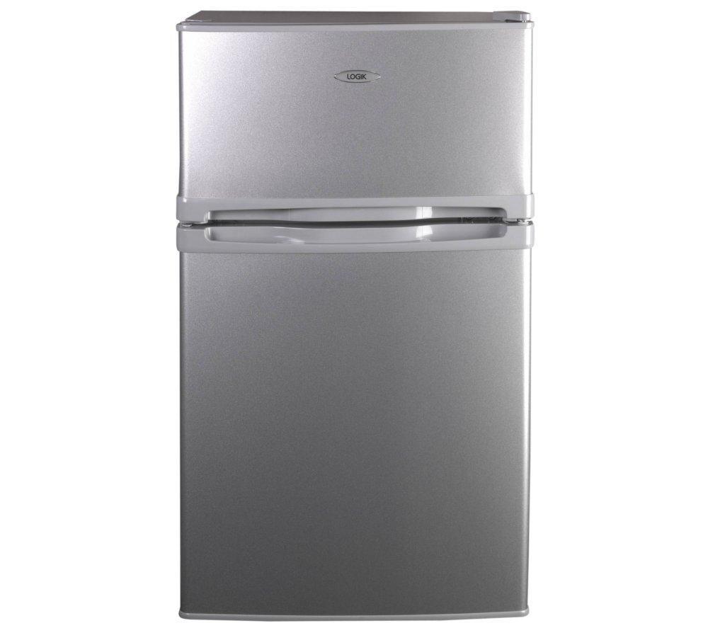 LOGIK LUC50S12 Undercounter Fridge Freezer - Silver