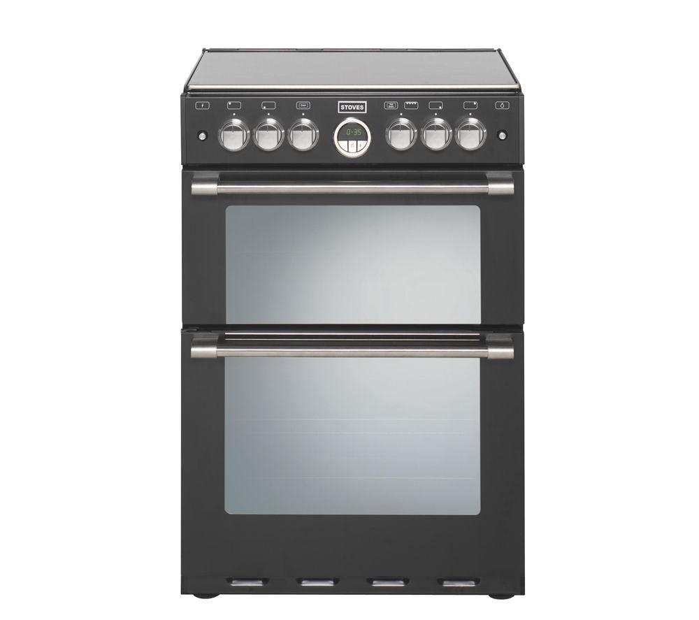 STOVES  Sterling 600E Electric Cooker  Black Black