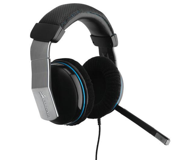 CORSAIR CA9011112WW Vengeance 1500 USB Gaming Headset - Black & Silver