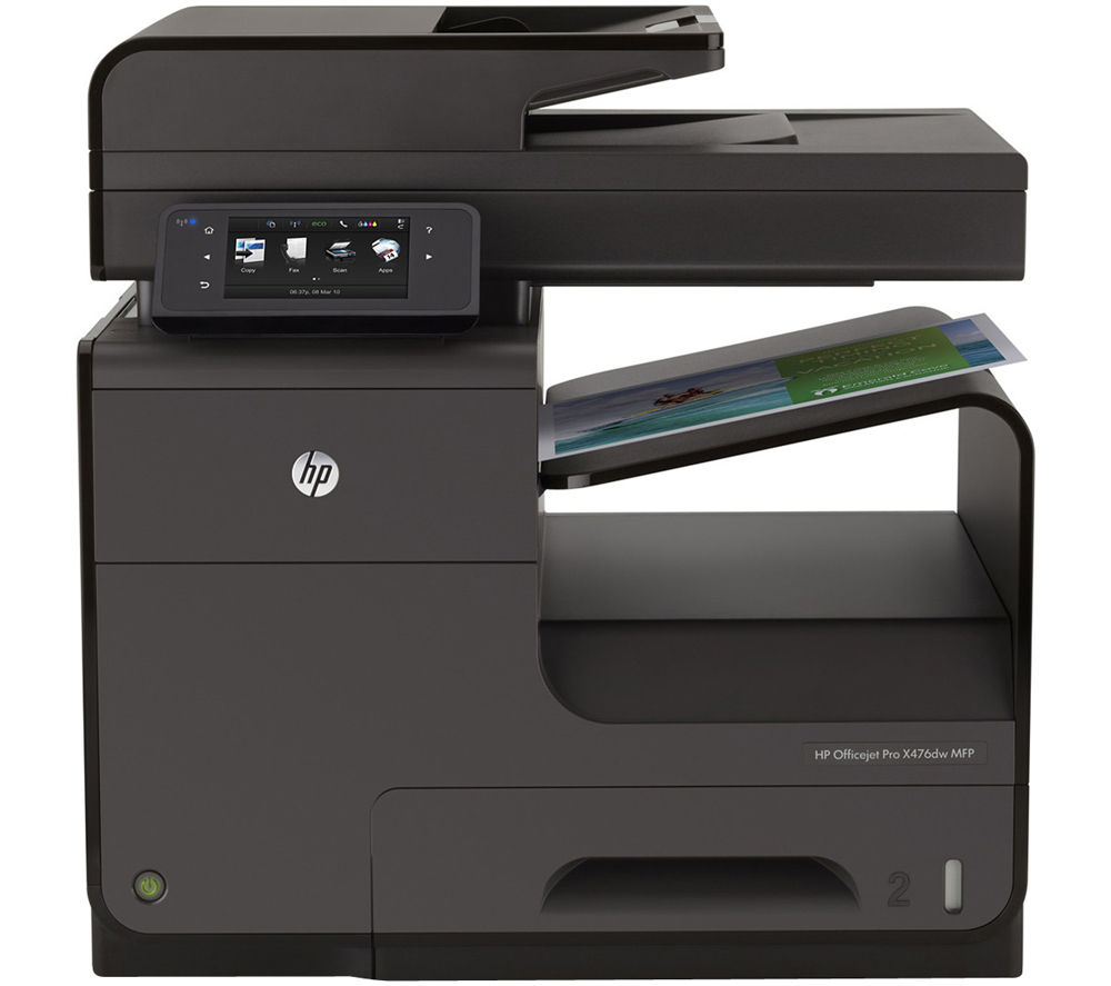 HP Officejet Pro X476dw Wireless All-in-One Inkjet Printer ...
