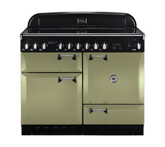 RANGEMASTER Elan 110 Electric Ceramic Range Cooker - Olive Green