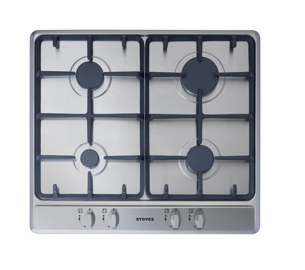 Buy Stoves Sgh600c Gas Hob Stainless Steel Free