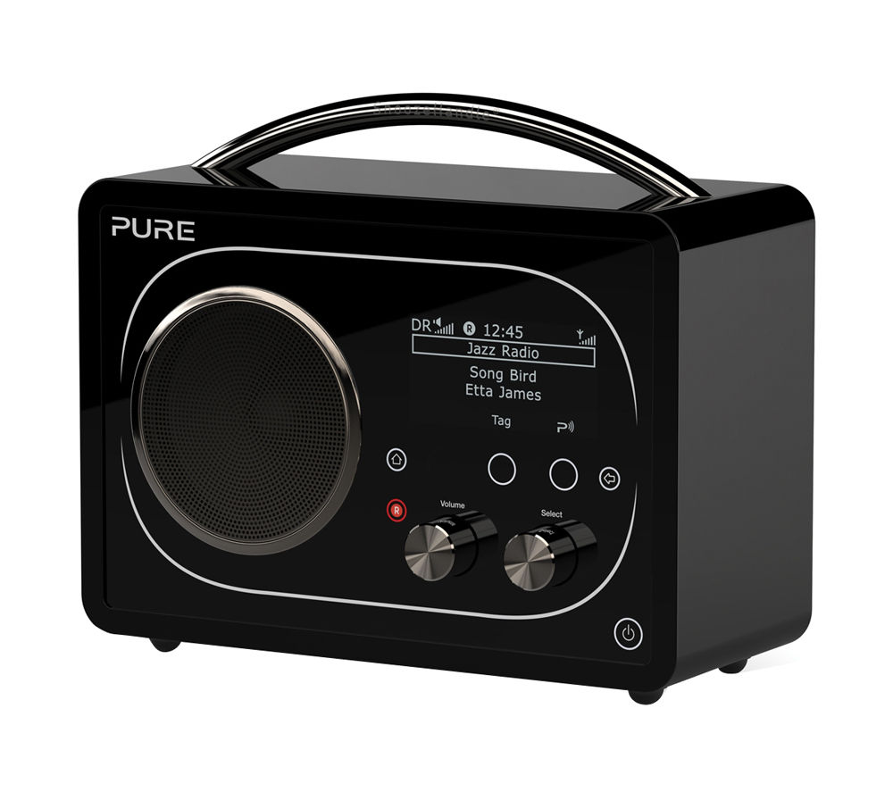 buy pure evoke f4 dab bluetooth radio black free. Black Bedroom Furniture Sets. Home Design Ideas