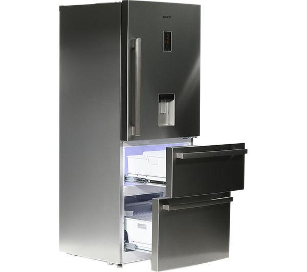 Buy Beko Select Cfmd7852x 50 50 Fridge Freezer Stainless