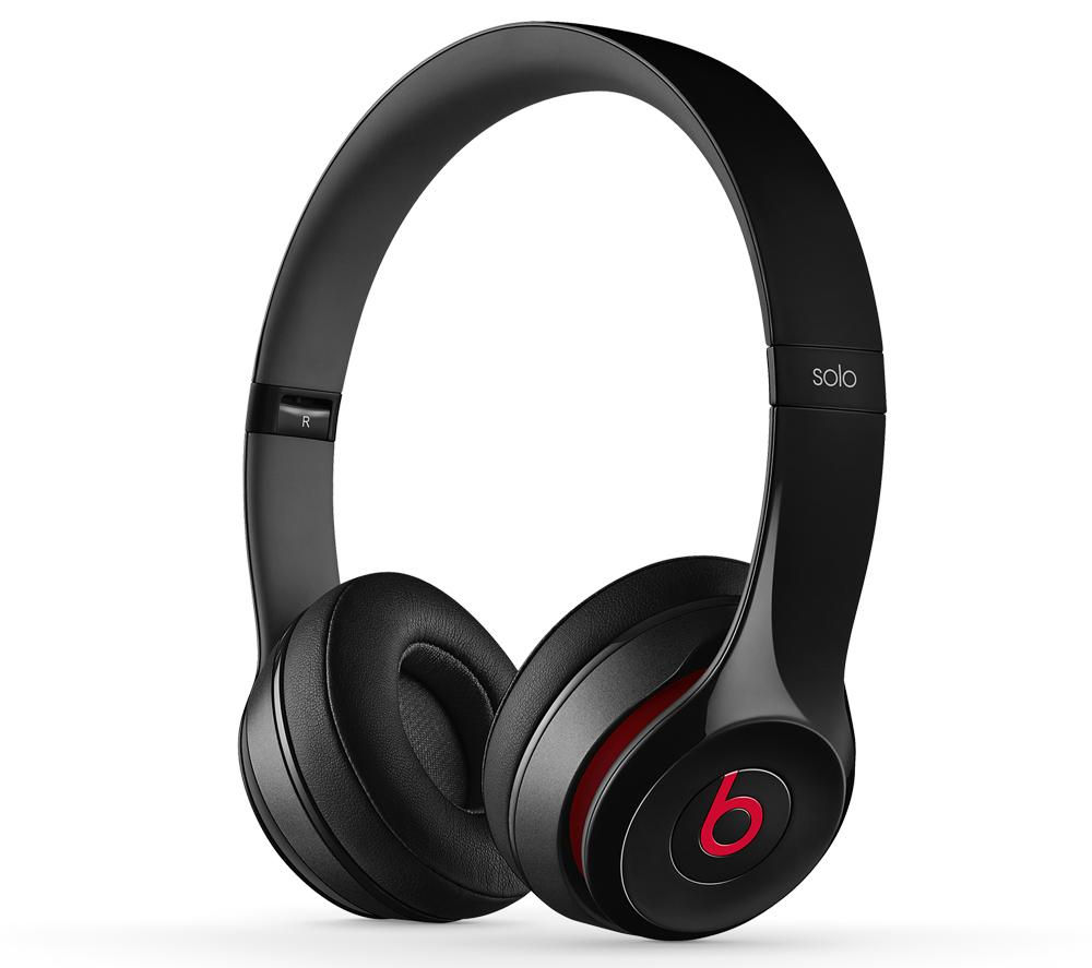 BEATS BY DR DRE Solo 2 Headphones - Black