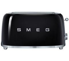 SMEG TSF02BLUK 4-Slice Toaster - Black