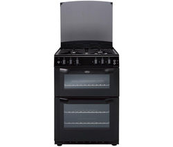 BELLING FSG55 TCF Gas Cooker - Black