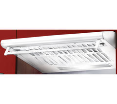 BAUMATIC STD6.2W Visor Cooker Hood - White