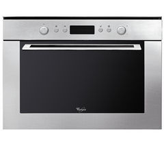 WHIRLPOOL AMW 820 IX Built-in Microwave with Grill - Stainless Steel