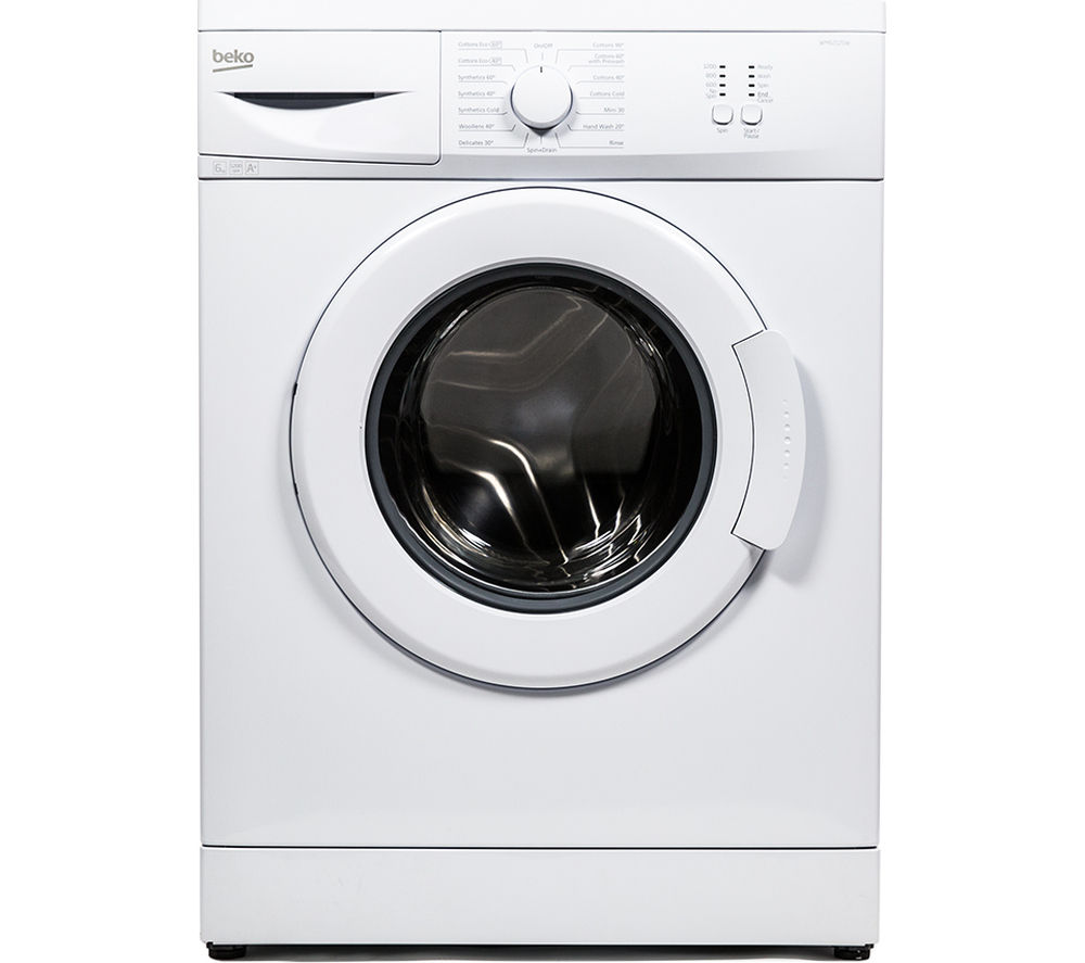 BEKO  WM62125W Washing Machine - White +  DCX83100W Condenser Tumble Dryer - White