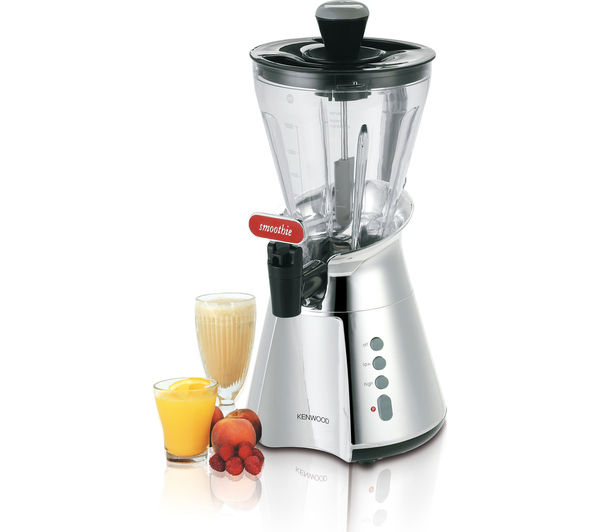 Buy kenwood sb266 smoothie maker chrome black free for What brand of blender is used on the chew