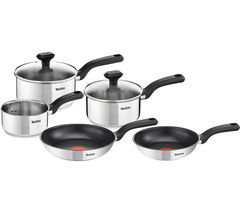 TEFAL Comfort Max C972S544 SS 5-piece Cookware Set - Stainless Steel