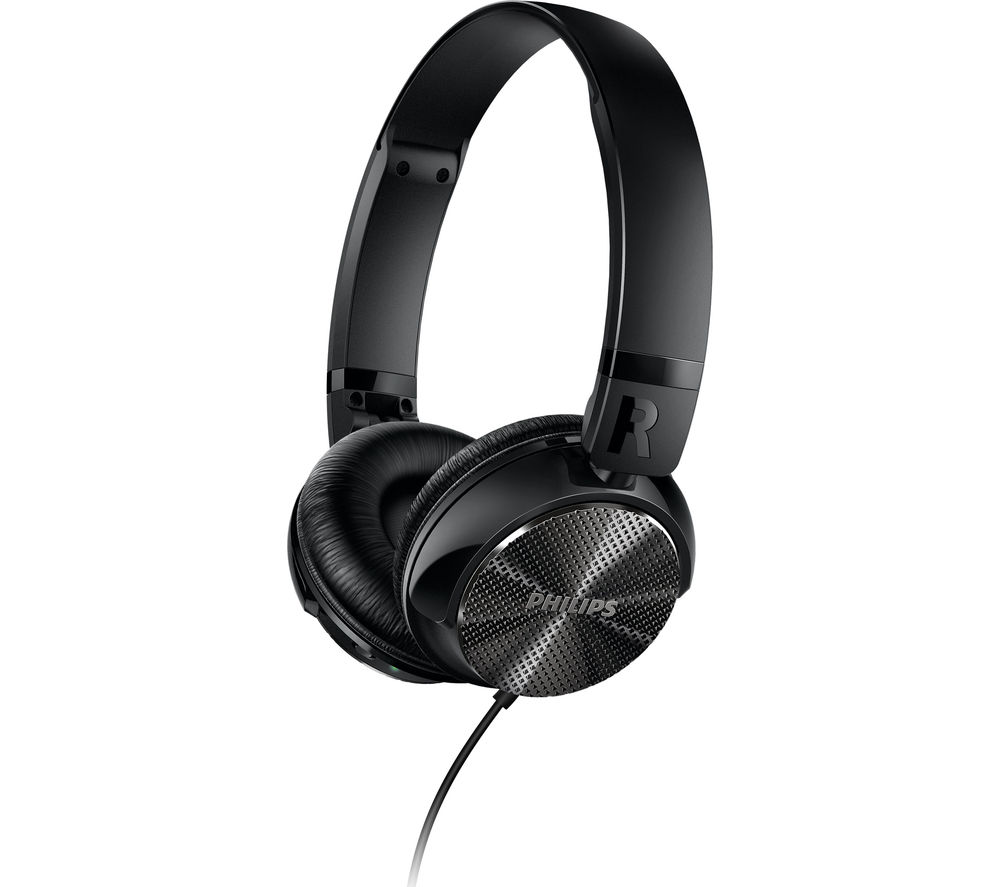 PHILIPS SHL3850NC Noise-Cancelling Headphones - Black