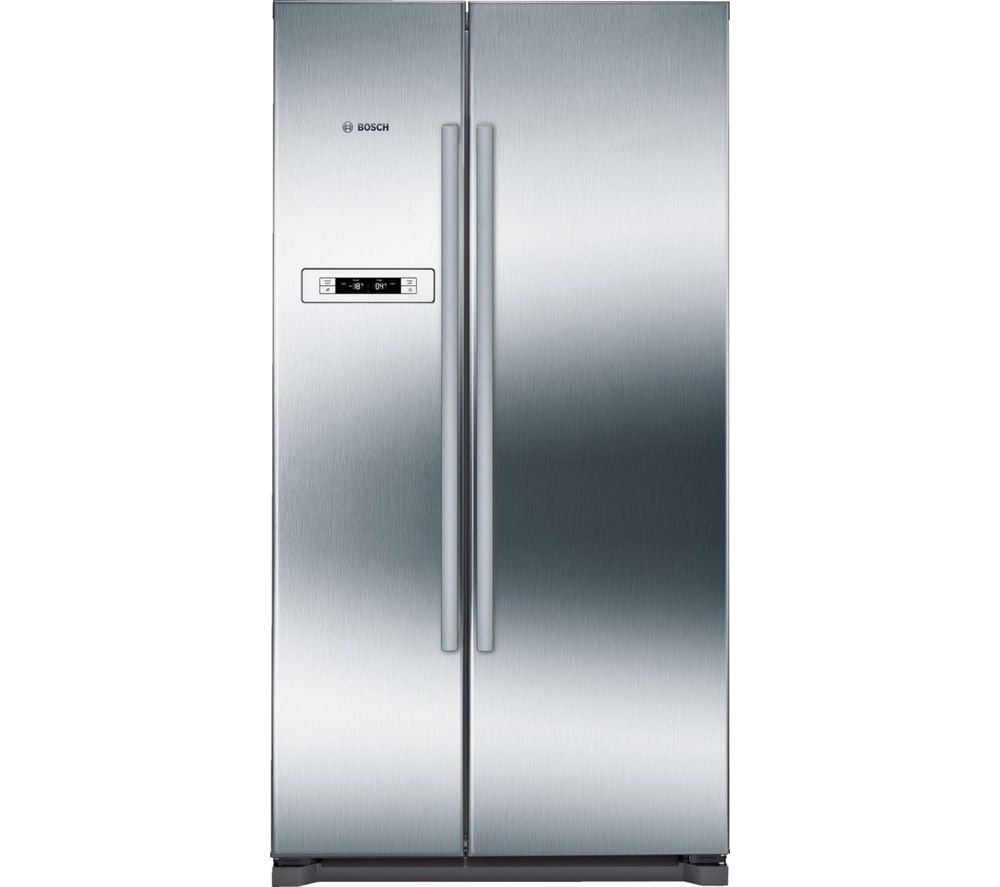 BOSCH  KAN90VI20G AmericanStyle Fridge Freezer  Stainless Steel Stainless Steel